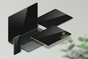 Free MacBook, iPad and iPhone Mockup
