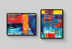 Free iPad Pro Presentation Mockup