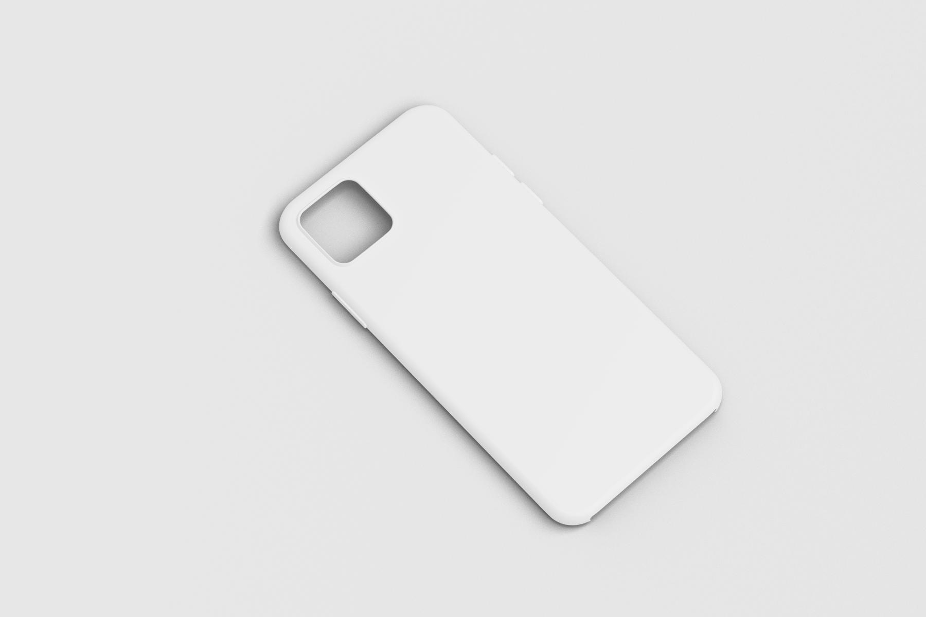 Free iPhone 12 Case Mockup