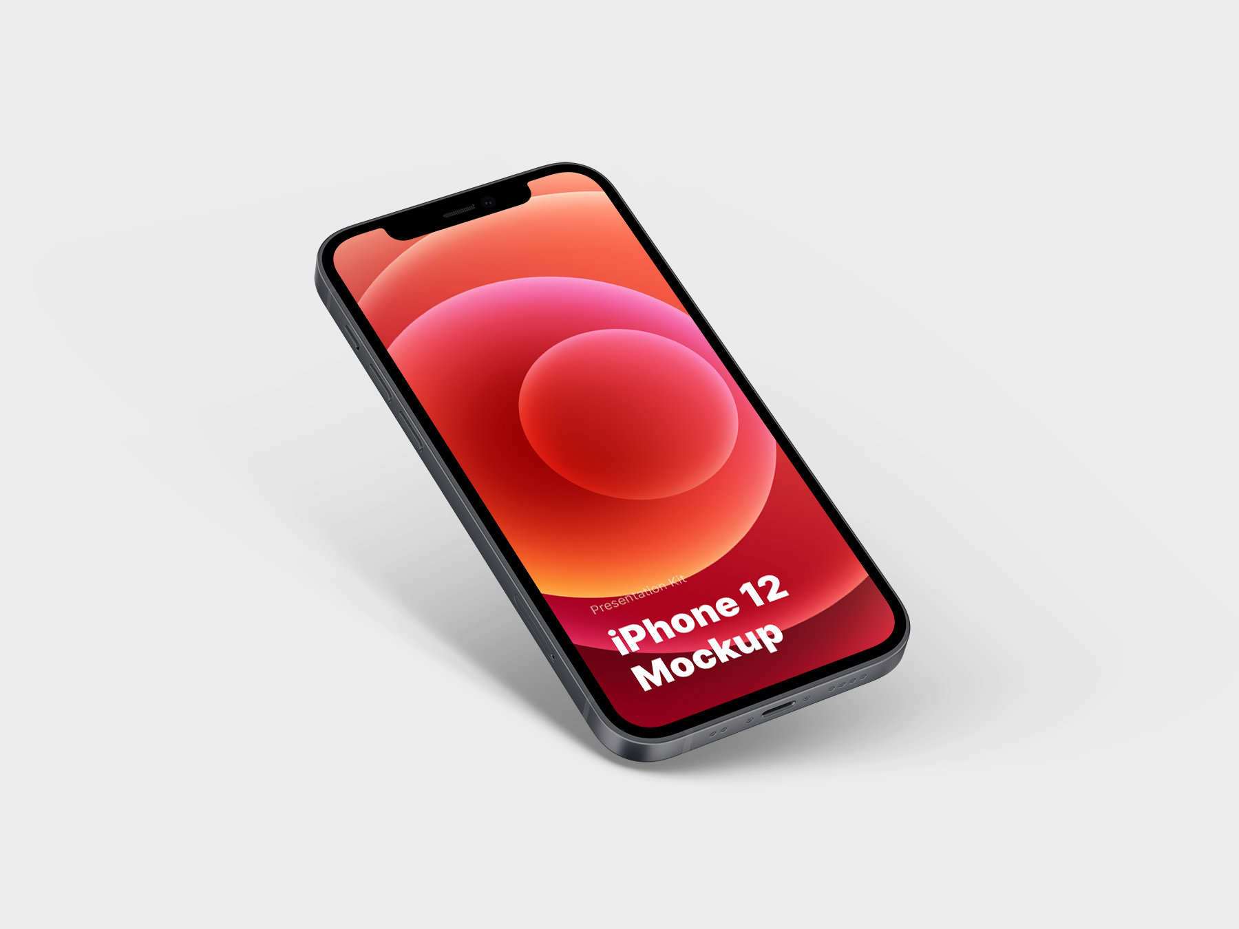 Free iPhone 12 Mockup Kit