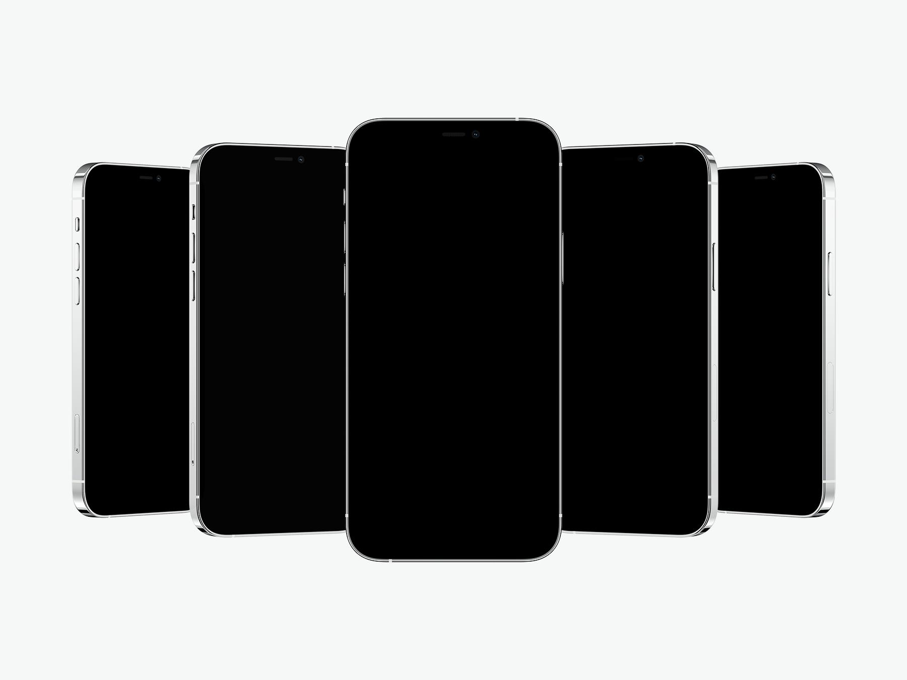 Free iPhone 12 Pro Showcase Mockup