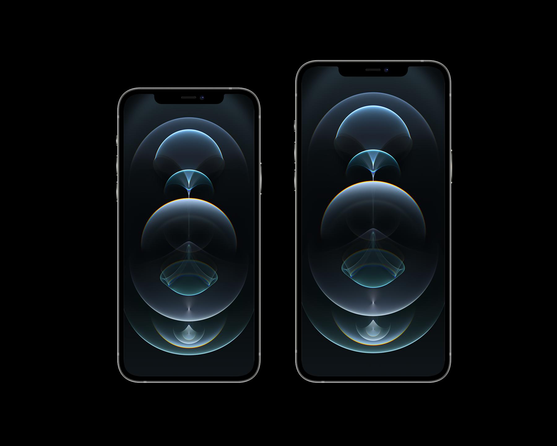 Free iPhone 12 Pro and Pro Max Mockup Set