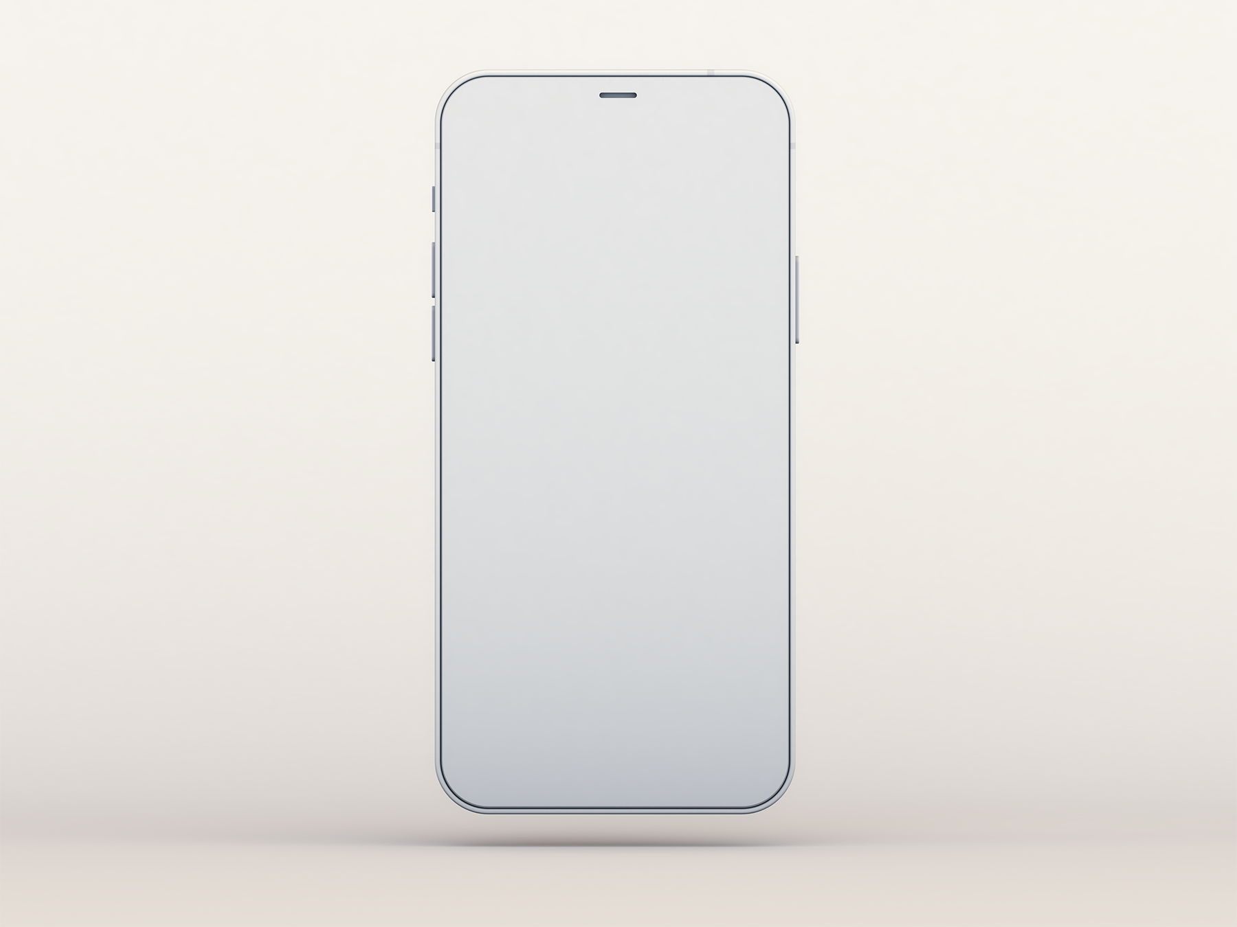 Free Clay-Style iPhone 12 Mockup