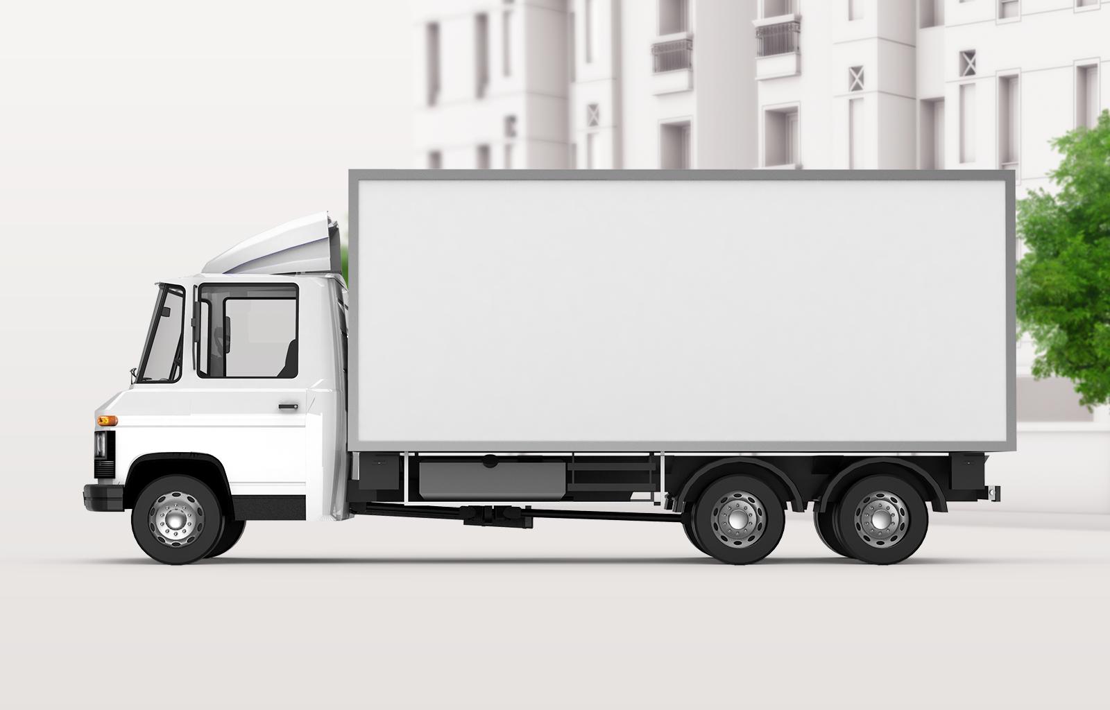 Free Truck Mockup